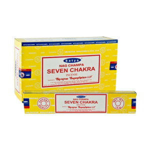 Satya Nag Champa seven chakra incense