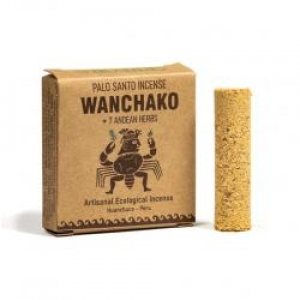 Wanchako димни цилиндри от свято дърво и 7 билки, 4 броя