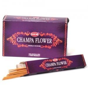 "Ароматни пръчици ""CHAMPA FLOWER"" Premium Masala Incense 15гр"